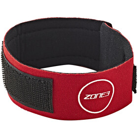 Zone3 Neoprene Timing Chip Strap - rouge